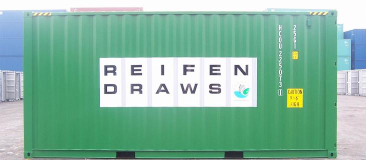 Containervermietung - Reifen Draws