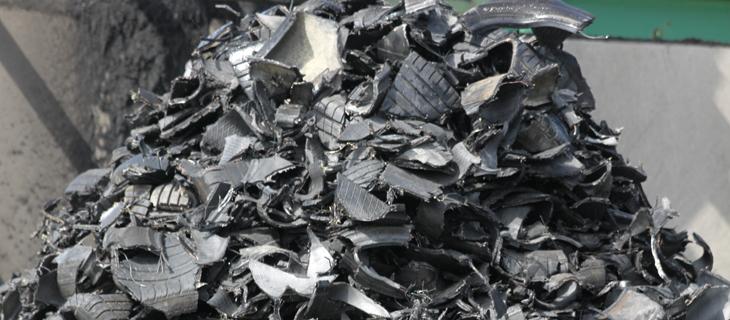 Verwertung von Altreifen - Reifen Draws