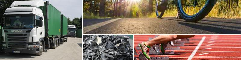 Verwertung von Altreifen - Einsatzmöglichkeiten - Reifen Draws