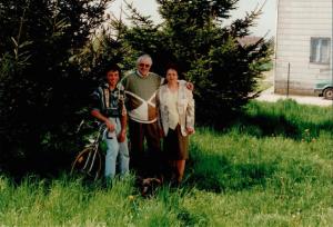 Bernhard und Elsa Draws mit Sohn Manfred